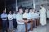 Giáo Xứ Quỳ Rước Lễ trên lưỡi cung kính tại Trà Vinh
