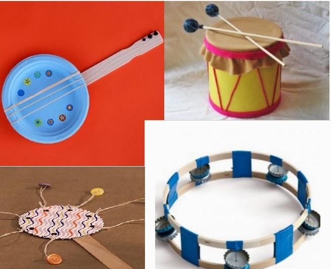 Juegos musicales m s de 20 ideas para hacer instrumentos musicales caseros - Trabajos caseros para hacer en casa ...