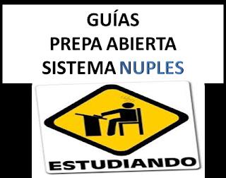 Prepa Abierta Guias Prepa Abierta Plan Nuevo Nuples 22 Materias