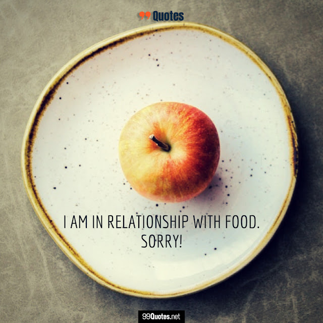 love for food quotes
