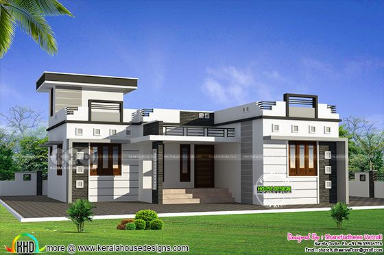 956 square feet 2 bedroom small home design