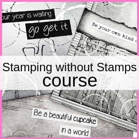 Gerry's Craft Room Stamping without stamps