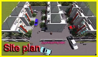 site plan rumah murah pamulang