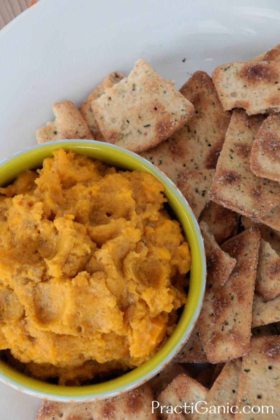 Vegan Butternut Squash & Rosemary Tahini Dip