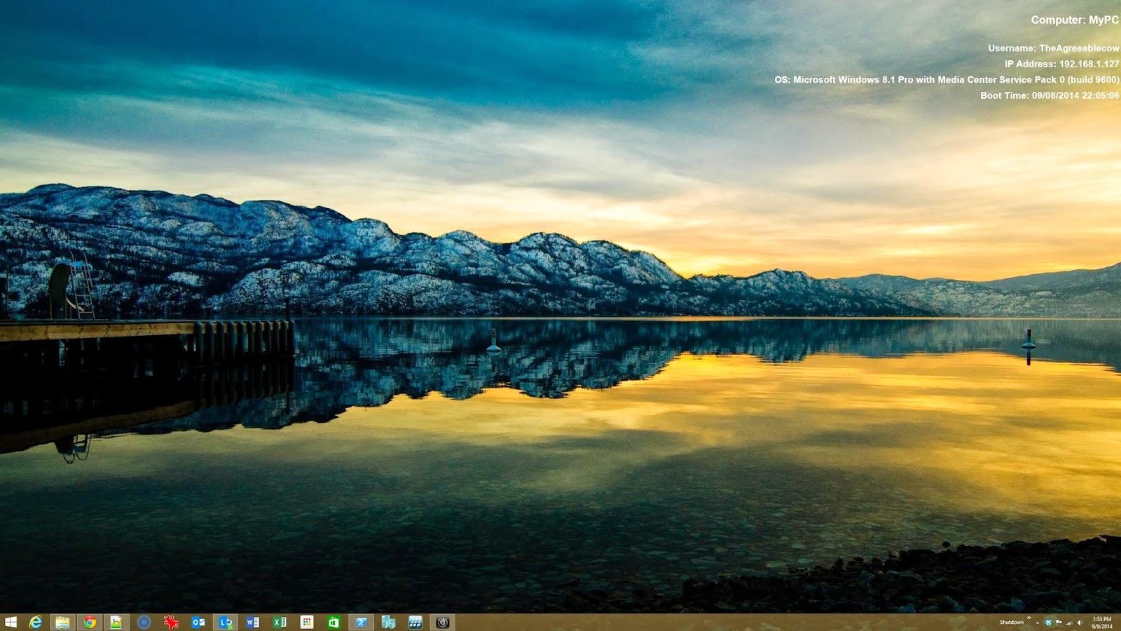 TheAgreeableCow: Set a Desktop Wallpaper using PowerShell