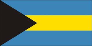 Bandeira das ilhas Bahamas