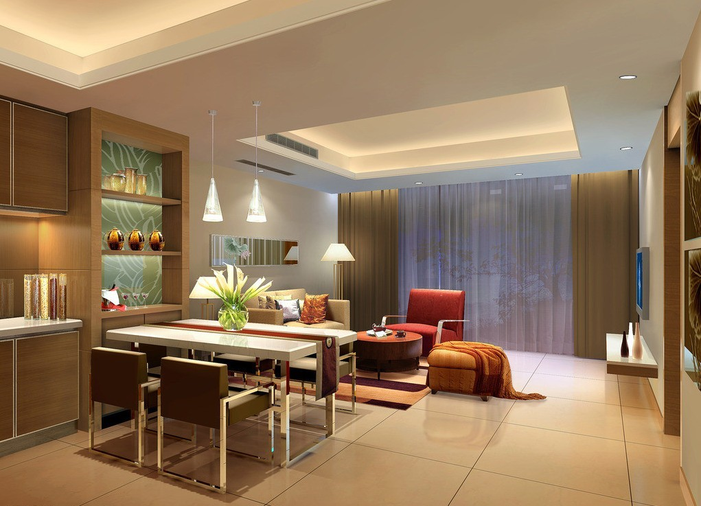 Beautiful Modern Homes Interior Designs  New Home Designs