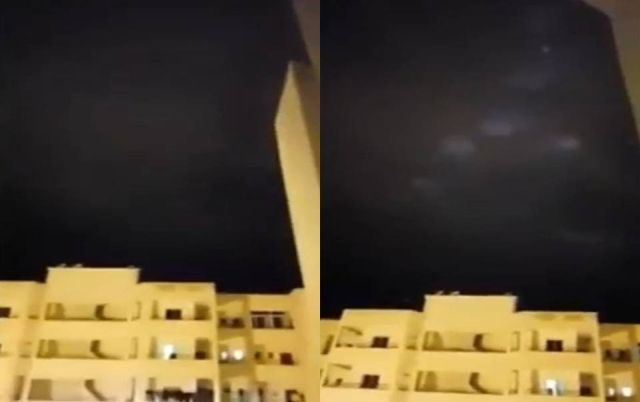 UFO News ~ Mysterious lights in the sky appear above Meknes, Morocco plus MORE Mysterious-lights-Morocco