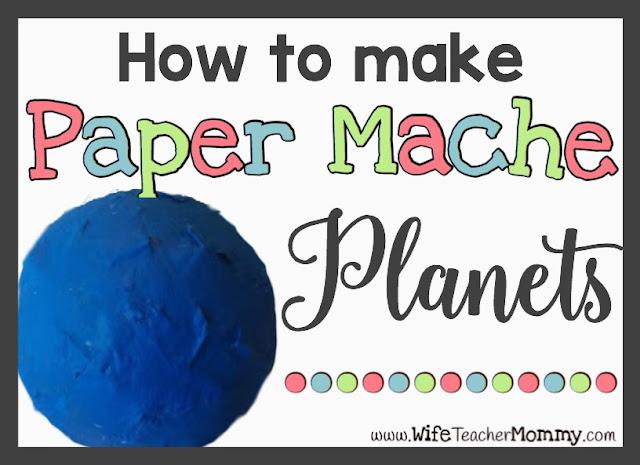 Paper Mache Planets