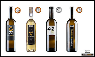 Vinos de la bodega Gorka Izagirre galardonados en la International Wine Challenge 2016 | La bodega situada en Azurmendi ha sido premiada por 4 año consecutivo