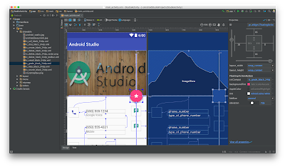 Layout Editor  Android Studio 2.2
