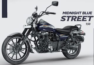 Bajaj Avenger street 150 Midnight Blue color