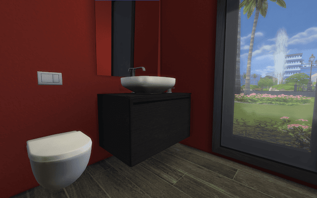 wc moderne Sims 4