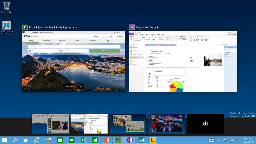 Microsoft Windows 10 - Virtual Desktop