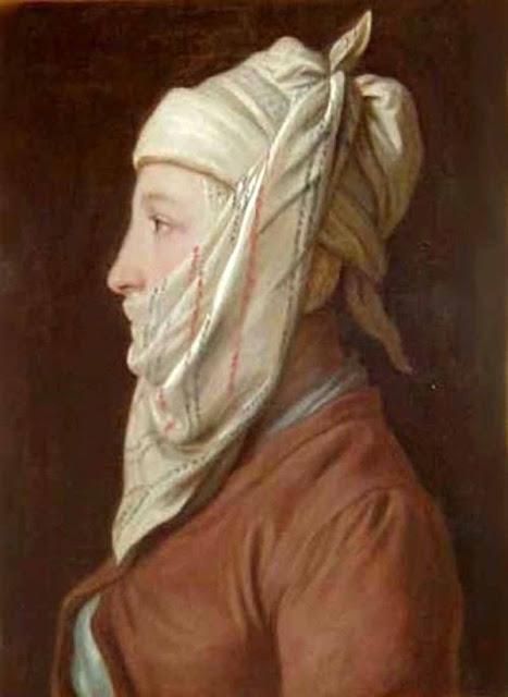 Ротари Пьетро Антонио Pietro Antonio Rotari Девушка в белой повязке, наподобие тюрбана (Крестьянка)
