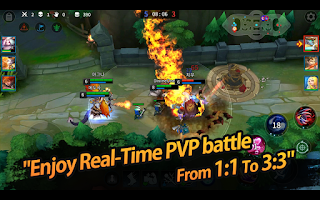 game Moba Android terbaik terpopuler - League of Master