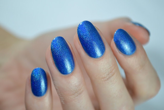 celestial cosmetics sesir kipi holographic blue review