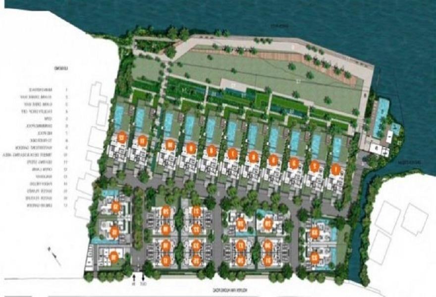 Khu biệt thự Holm Villas Thảo Điền