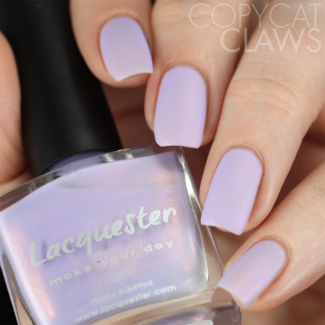 Lacquester Don't Be Shy Swatch Matte