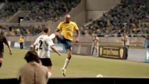 WHAT IF UFC FIGHTER ANDERSON SILVA CHOSE FOOTBALL OVER FIGHTING – VIDEO