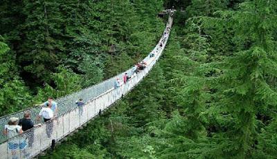 Jembatan Gantung Paling Menakutkan Di Dunia Untuk Dilihat 10 JEMBATAN GANTUNG PALING MENAKUTKAN DI DUNIA UNTUK DILIHAT