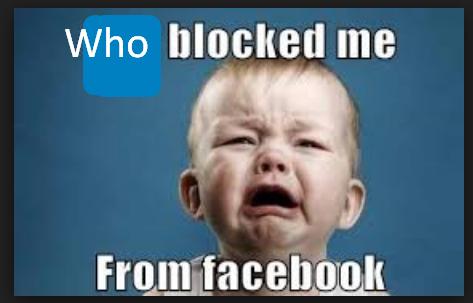 Who Blocked Me