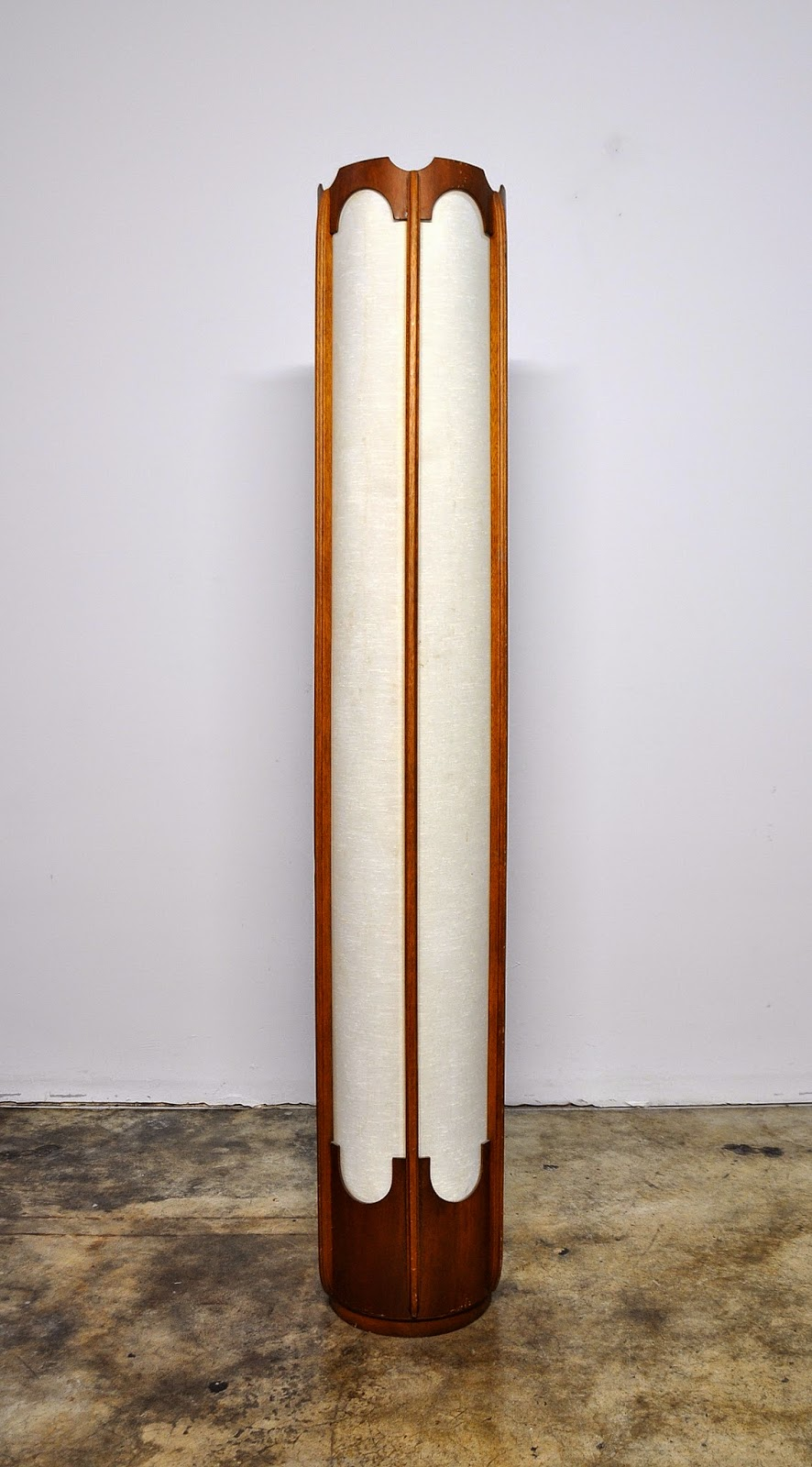 Floor Lamps 6, SELECT MODERN: 6 Foot Tall Teak Floor Lamp