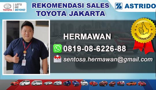 Rekomendasi Sales Toyota Jakarta Utara