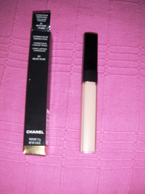 Anti-Cernes Chanel : Correcteur Perfection Long Lasting Concealer - Revue / Review + Swatches + Photos