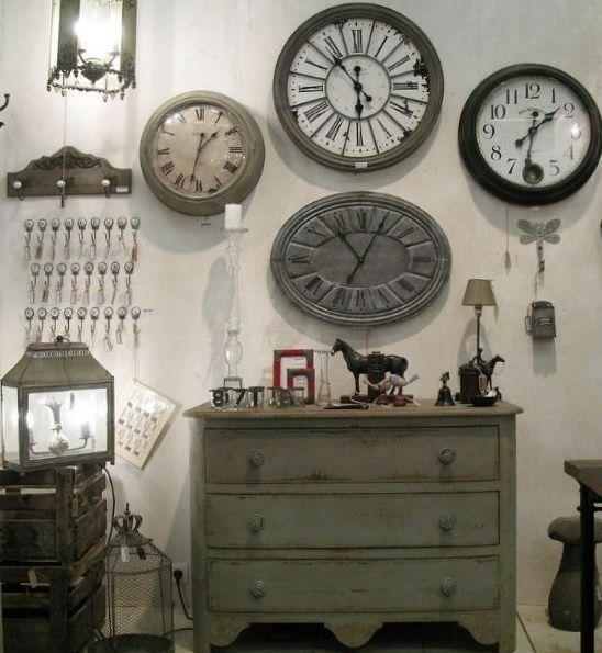 Marzua decorar con relojes Relojes de decoracion
