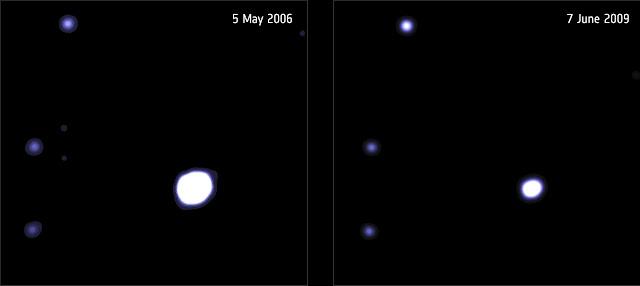 کشف نیرومندترین شواهد برای سیاهچالههای میانجرم