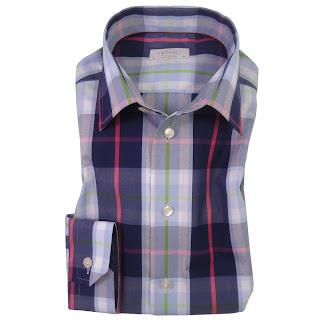 Robert Fuller Eton Shirts Summer Colours Soft Wrinkle