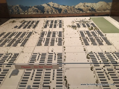 site map at Manzanar National Historic Site in Independence, California