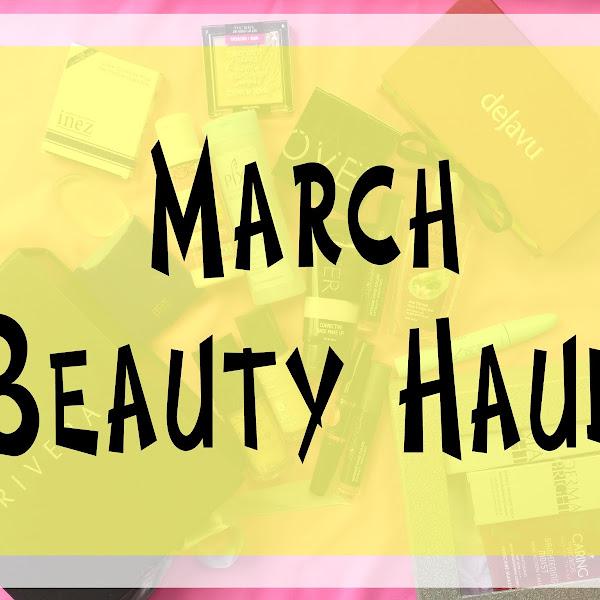 March Beauty Haul #12