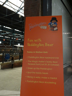 York, National Railyway Museum, half term activity