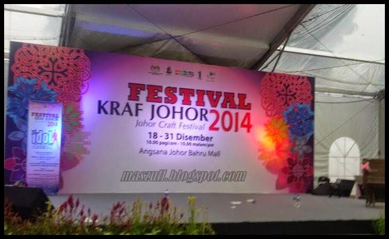 Festival Kraf Tangan Johor 2014