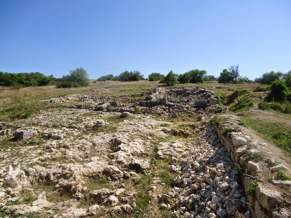 Руины княжеского дворца Феодоро