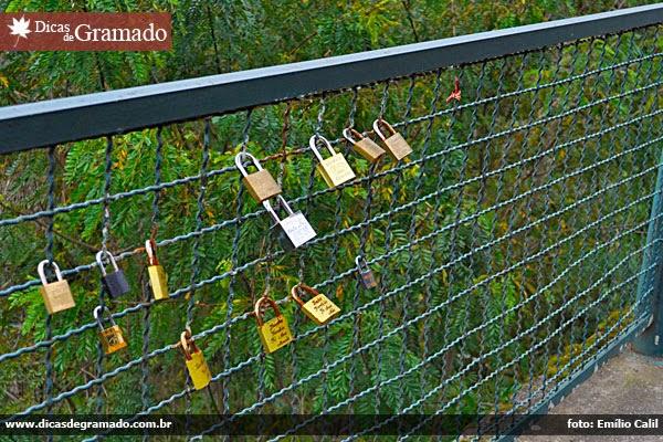 Cadeados no Vale do Quilombo