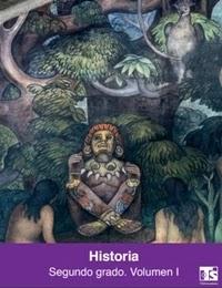 Libro de texto Telesecundaria Historia Volumen 1 Segundo grado 2019-2020