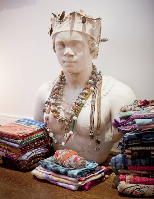 tribal textiles and jewels | Ian and Emilie Irving, New York