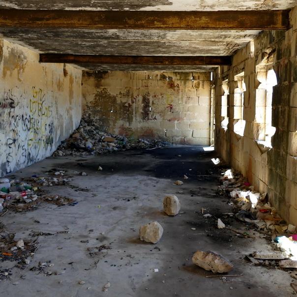 Fort Campbell, Malta, Selmun, Kriegsruinen, Ruinen, Lost Place, düster