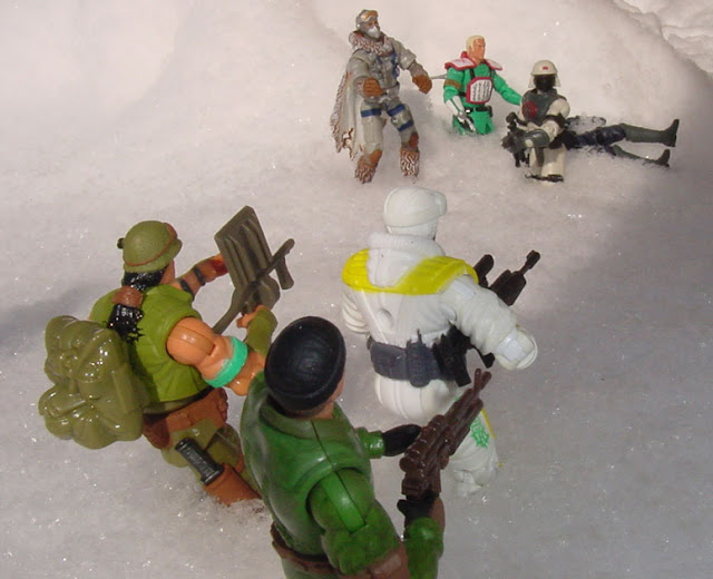 2003 Scalpel, Spy Troops, Frostbite, Dart, Snow Serpent, Neo Viper