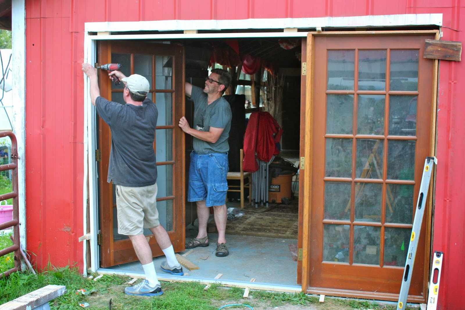 Squash Blossom Farm: Our Barn Doors are More Open!