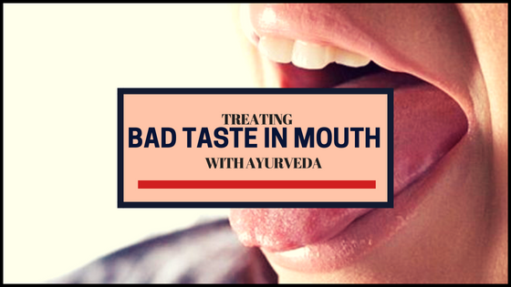 How To Get Rid Of Bad Taste In Mouth Naturally