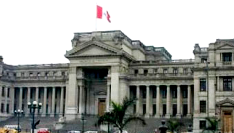 Foto del Poder Judicial (Palacio de Justicia de Lima - Perú)