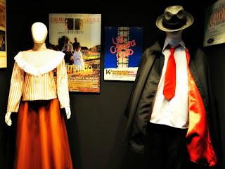 O Homem da Capa Preta e O Quatrilho no Museu do Festival de Cinema de Gramado