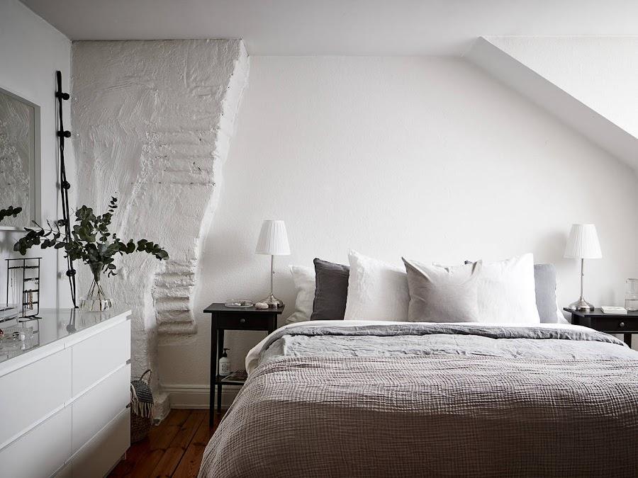 Tonos neutros para decorar una vivienda amplia y acogedora