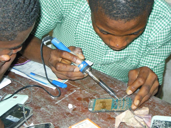 GSM and Computer Repairs Training at the Special School for Handicapped Children (S.S.H.C)