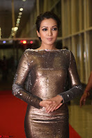 Actress Catherine Tresa in Golden Skin Tight Backless Gown at Gautam Nanda music launchi ~ Exclusive Celebrities Galleries 082.JPG