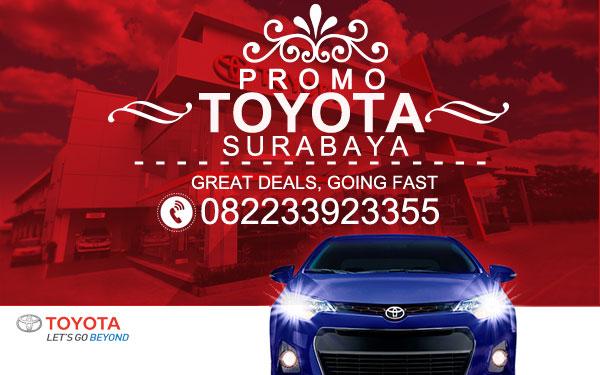 Promo Mobil Toyota Surabaya Paket DP Harga Murah 2016